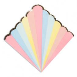 Servietten Pastel 16 Stück
