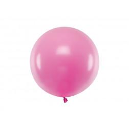 Luftballon rund Pastel Fuchsia 60cm