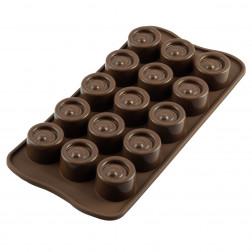 Silikomart Schokoladen Mould Vertigo