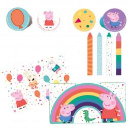 Peppa Pig Stationery Pack Plastik / Papier 16er Set