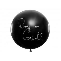 Riesenballon boy or girl 1m BLAU