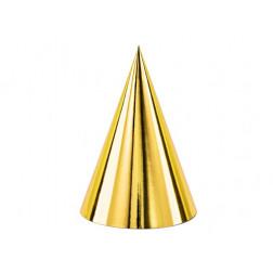 Party Hut gold 6 stück