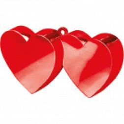 Ballon Gewicht Rot Zweier Herz