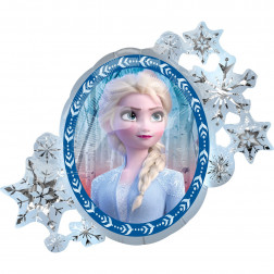 Folienballon Frozen II Elsa Anna