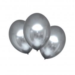 Luftballons Satin Luxe Platinum 6 Stück