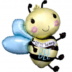 Folienballon Little Honey Bee Biene 76cm