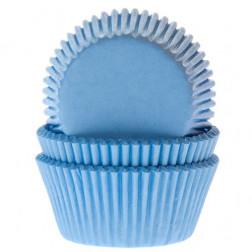 Cupcake Formen blau 50 Stück