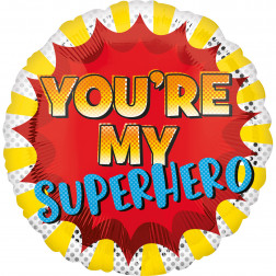 Folienballon You'Re My Superhero 45cm