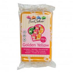 Mandelhaltige Zuckermasse Golden Yellow 250g