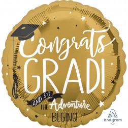 Congrats Grad Folienballon 71cm