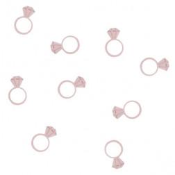 Konfetti Diamond Ring Rosegold 14g