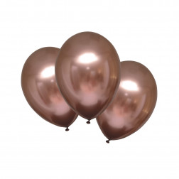 Luftballon Satin Luxe Rose Copper 6 Stück