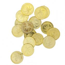 Piraten Münzen Gold 24 Stück