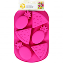 Wilton Silicone Baking Mould Melon/Pineapple