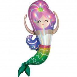 Folienballon Mermaid 104cm