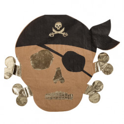 Servietten Pirat 8 Stück