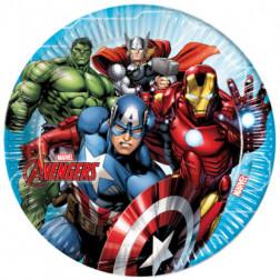 Pappteller Avengers 8 stück 23cm