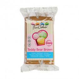 Rollfondant Teddy Bear Brown 250g