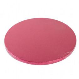 Cake Drum Round Cerise 25cm