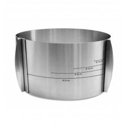 Tortenring extra hoch 12cm Ø 15 bis 23cm