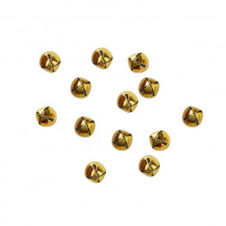 Gold Bell Confetti Decorations 50 Stück