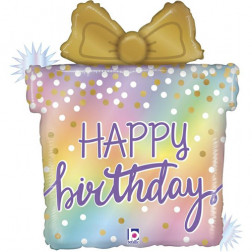Folienballon Cake Birthday 69cm
