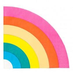 Servietten Rainbow Brights 16 Stück