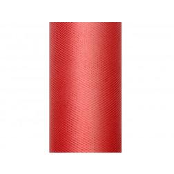 Tischläufer Tull rot 9m