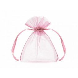 Organza Tütten rosa 20 Stück