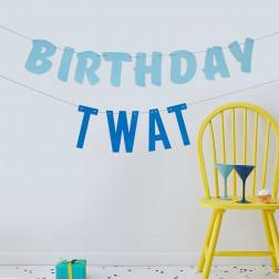 Birthday Twat Banner
