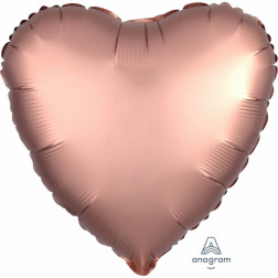 Folienballon Satin Luxe Rose Copper 43cm