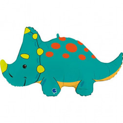 Folienballon Triceratops 90cm