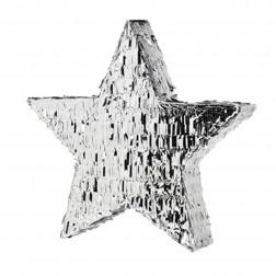 Pinata Star Silber 47cm