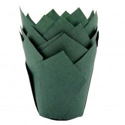 Muffin Tulpenform grün 36 Stück