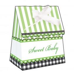Sweet Baby Feets Gruen - 12 Tüten