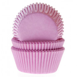 Cupcake Formen Hellrosa 50 Stück