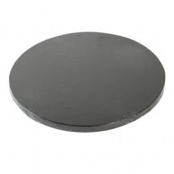 Tortenplatte Rund schwarz Ø 25cm