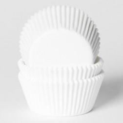 Cupcake Backförmchen weiß 50 Stück
