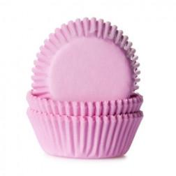 Mini Cupcake Formen rosa 60 Stück