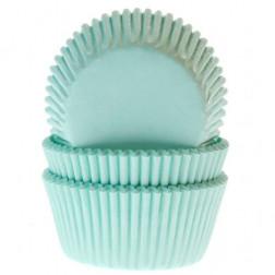 Cupcake Formen Mint Green 50 Stück