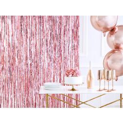 Lametta Curtain rosegold 90 x 250cm