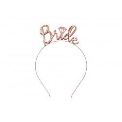 Haarreif Bride rosegold