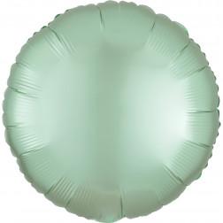 Folienballon Rund Satin Luxe Mint grün 43cm