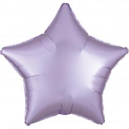Folienballon Stern Satin Luxe Pastel Lila 43cm