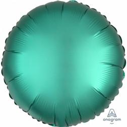Folienballon rund Satin Luxe Jade 43cm