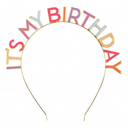 Haarreif It's My Birthday Rose
