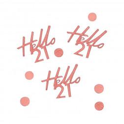 Konfetti Hello 21 Rosegold