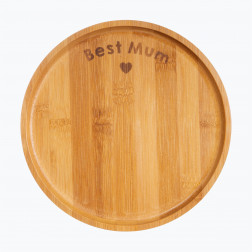 Best Mum Bambus Teller 21cm
