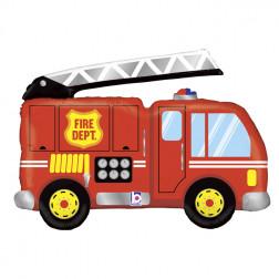 Folienballon Feuerwehrauto 100cm