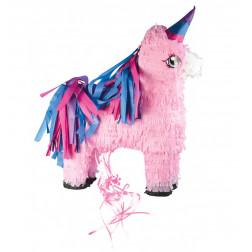 Pull Pinata Unicorn pink 55cm